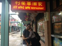 chinaa town